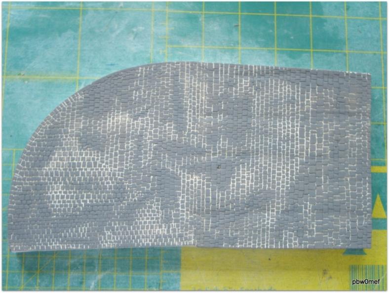 Kopfsteinpflaster Farbe Asphalt