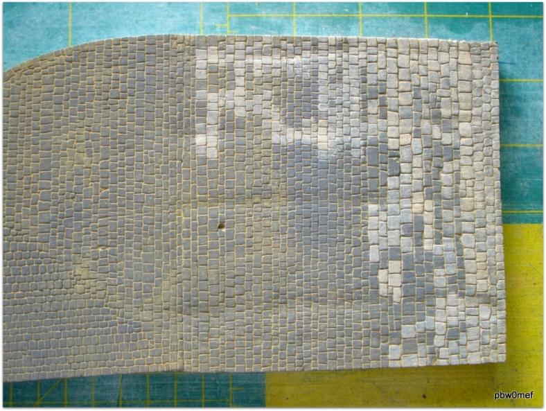 Kopfsteinpflaster koloriert Spur0