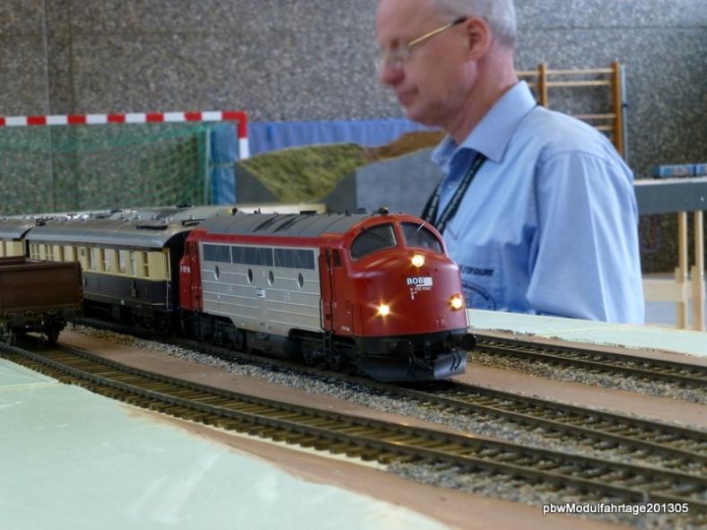 Abb: NOHAB  im Bahnhof Blumnfeld