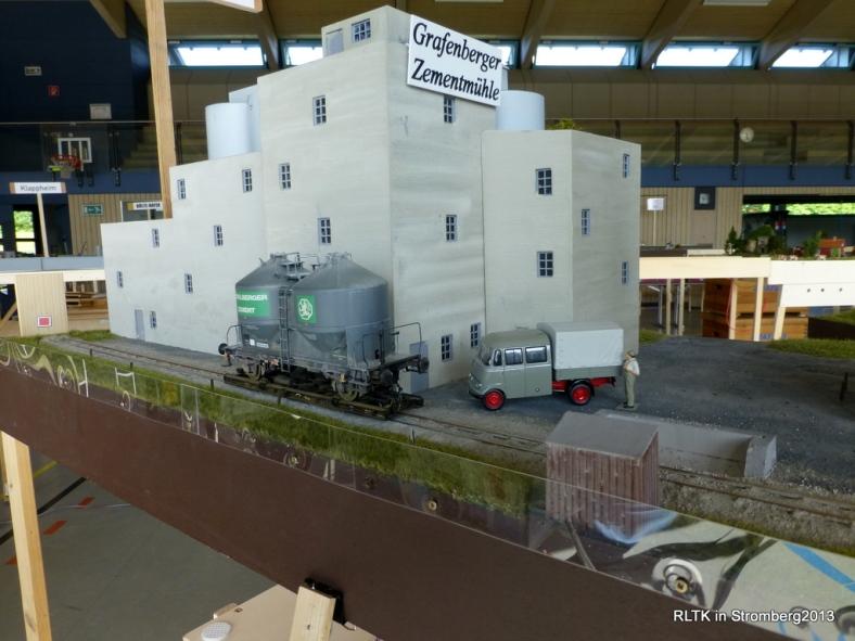 Abb: angekommen in der Grafenberger Zementmühle