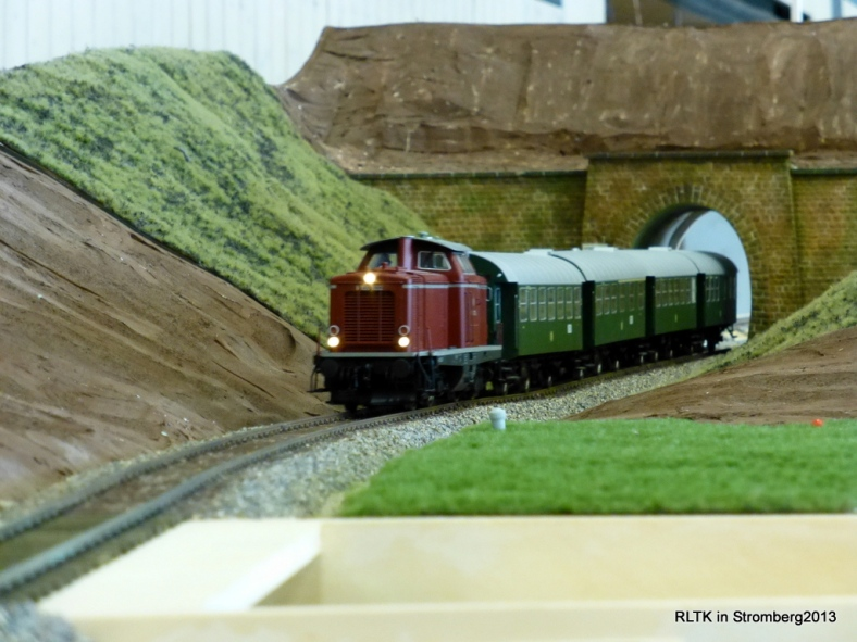Abb: N 60456 verläßt den Spitzeich Tunnel