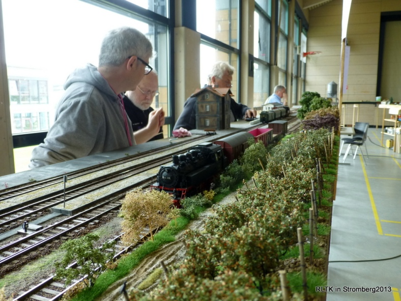 Abb: viel Betrieb in Güntersdorf