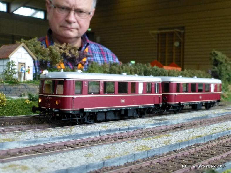 Abb: VT 70 wird in Güntersdorf von Onkel Tom für die Rückfahrt nach Blumfeld bereitgestellt