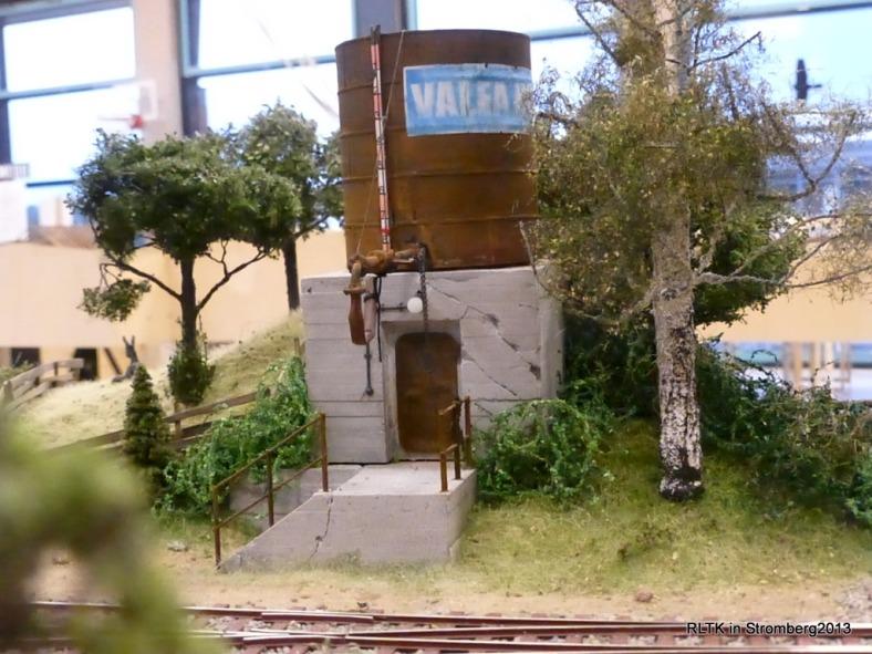 Abb: schöne Wasserturm szene
