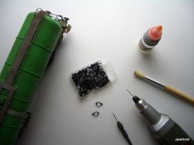 Materialien für die Umbauarbeiten