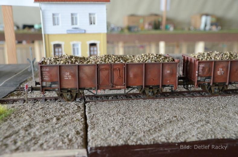 Abb4: Regelspurwagen mit Zuckerrüben