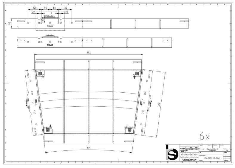pbw-kleinserienmodellbau rbs-modellbau Spur 0 Module Fremo